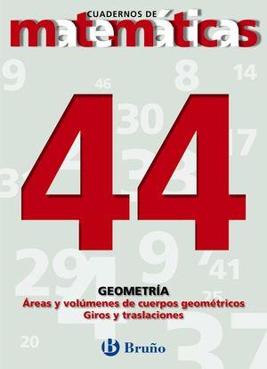 CUADERNO MATEMATICAS 44 BRUÑO