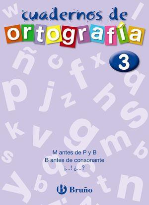 CUADERNOS DE ORTOGRAFIA 3