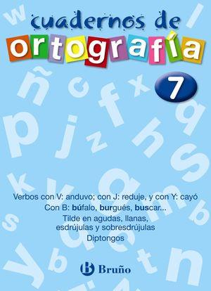 CUADERNOS DE ORTOGRAFIA 7