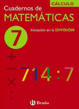 CUADERNO MATEMATICAS 7