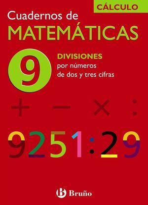 CUADERNO MATEMATICAS 9