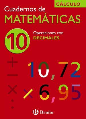 CUADERNO MATEMATICAS 10