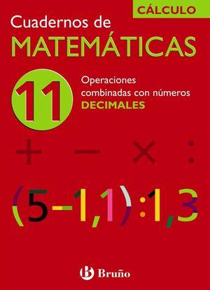 CUADERNO MATEMATICAS 11
