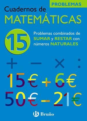 CUADERNO MATEMATICAS 15