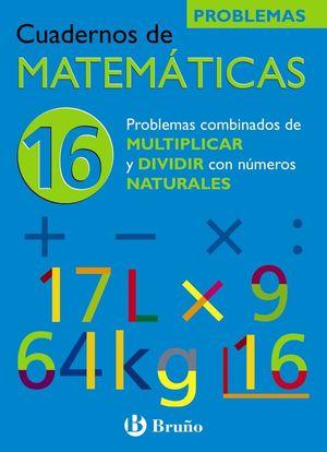 CUADERNO MATEMATICAS 16