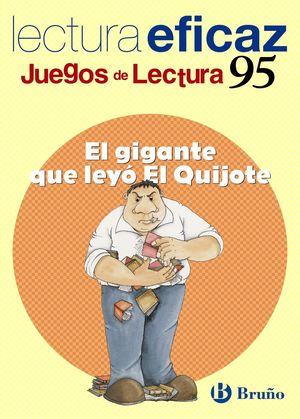 EL GIGANTE QUE LEYÓ EL QUIJOTE JUEGO DE LECTURA