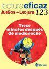 TRECE MINUTOS DESPUES DE MEDIANOCHE JUEGO DE LECTURA