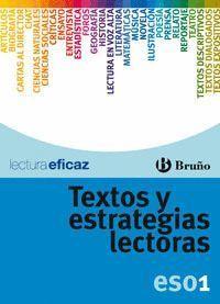 TEXTOS Y ESTRATEGIAS LECTORAS 1º ESO