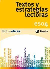 TEXTOS Y ESTRATEGIAS LECTORAS 4 ºESO