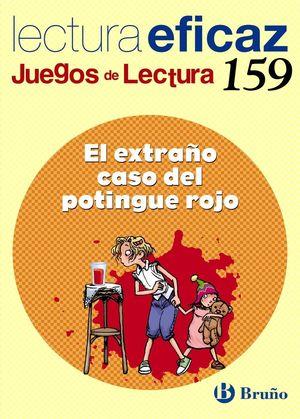 EL EXTRAÑO CASO DEL POTINGUE ROJO JUEGO LECTURA