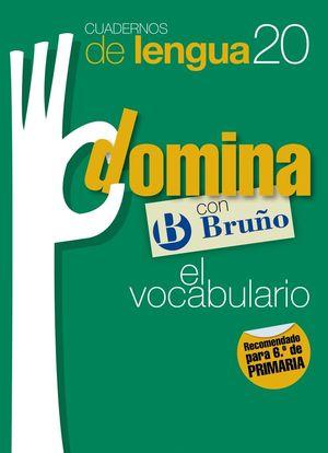 CUADERNOS DOMINA LENGUA 20 VOCABULARIO 6
