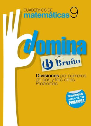 CUADERNOS DOMINA MATEMATICAS 9