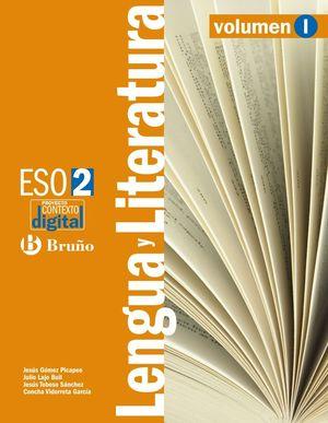 CONTEXTODIGITAL LENGUA Y LITERATURA 2 ESO - 3 VOLÚMENES