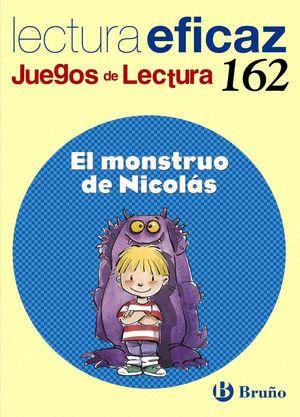 EL MONSTRUO DE NICOLAS JUEGO DE LECTURA Nº 162