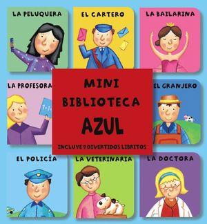 MINI BIBLIOTECA AZUL