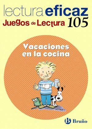 VACACIONES EN LA COCINA JUEGO DE LECTURA