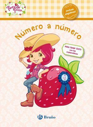 NÚMERO A NÚMERO. TARTA DE FRESA