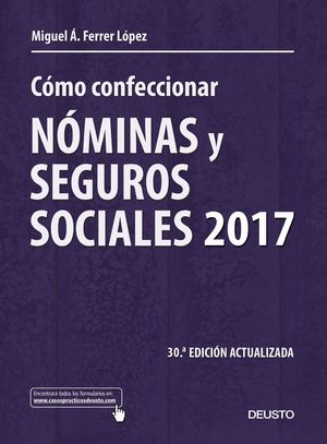 COMO CONFECCIONAR NOMINAS Y SEGUROS SOCIALES 2017