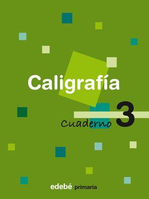 CUADERNO CALIGRAFIA 3 EJERCITACION 2008