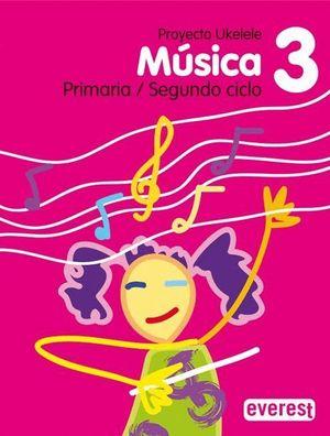 MÚSICA 3º PRIMARIA. PROYECTO UKELELE