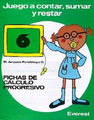 JUEGO A CONTAR SUMAR Y RESTAR Nº6 (VERDE)