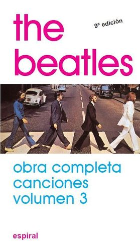 CANCIONES VOL. III THE BEATLES
