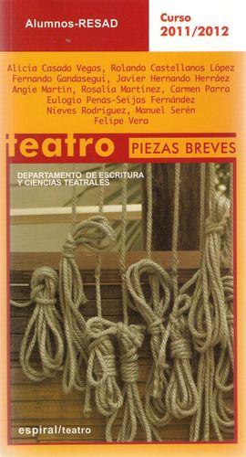 PIEZAS BREVES, ALUMNOS RESAD CURSOS 2011/2012