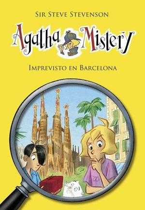 AGATHA MISTERY 26 IMPREVISTO EN BARCELONA + MOCHILA DE REGALO