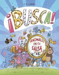¡BUSCA! ANIMALES EN SU SALSA
