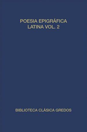 POESIA EPIGRAFICA LATINA II  (T)
