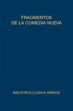 FRAGMENTOS DE LA COMEDIA NUEVA