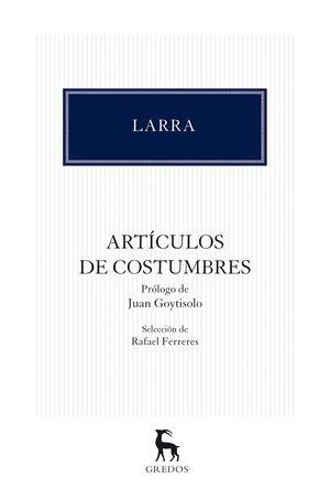 ARTÍCULOS DE COSTUMBRES