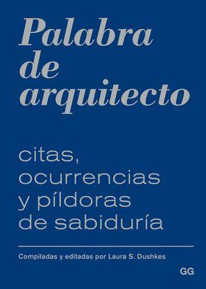 PALABRA DE ARQUITECTO