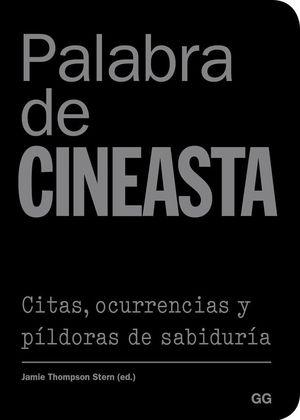 PALABRA DE CINEASTA