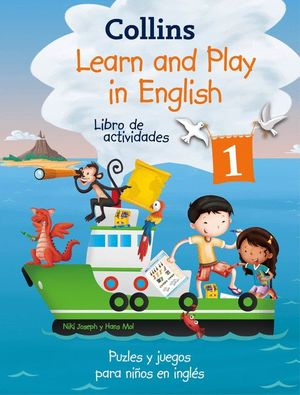 LEARN AND PLAY IN ENGLISH 1 LIBRO DE ACTIVIDADES