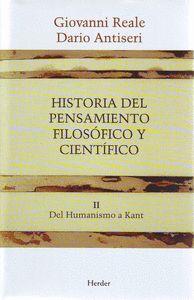 HISTORIA DEL PENSAMIENTO FILOSOFICO Y CIENTIFICO VOL.II