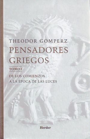 PENSADORES GRIEGOS (3 VOLS.) ESTUCHE