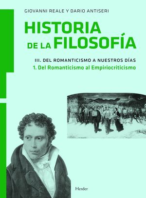 HISTORIA DE LA FILOSOFIA, VOL.III/1 DEL ROMANTICISMO AL