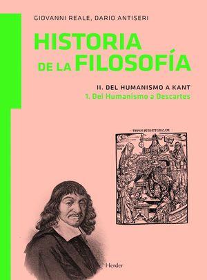 HISTORIA FILOSOFIA II.1 HUMANISMO A KANT DEL HUMANISMO A DESCAR