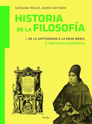 HISTORIA DE LA FILOSOFIA VOL.I.2  DE LA ANTIGUEDAD A EDAD MEDIA