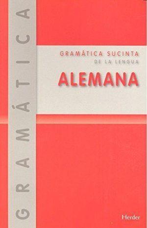 GRAMATICA SUCINTA DE LA LENGUA ALEMANA