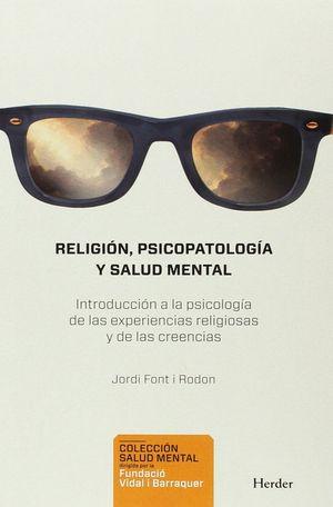 RELIGION PSICOPATOLOGIA Y SALUD MENTAL