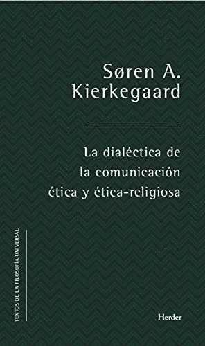 DIALECTICA DE LA COMUNICACION ETICA Y ETICA-RELIGIOSA