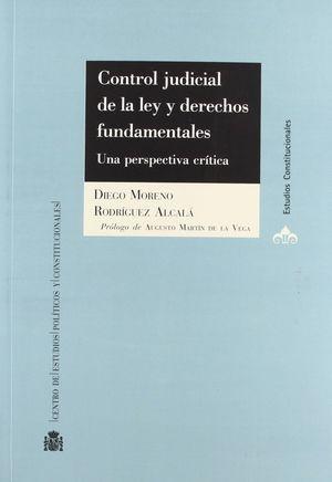 CONTROL JUDICIAL DE LA LEY Y DERECHOS FUNDAMENTALES