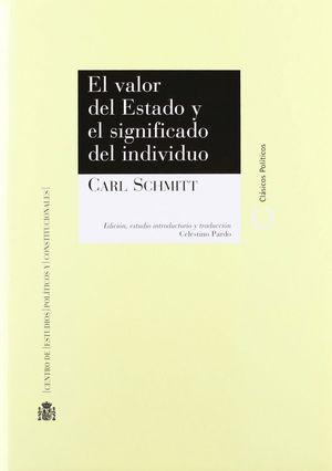 EL VALOR DEL ESTADO Y EL SIGNIFICADO DE LO SINGULAR