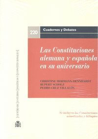 LAS CONSTITUCIONES ALEMANA Y ESPAÑOLA EN SU ANIVERSARIO