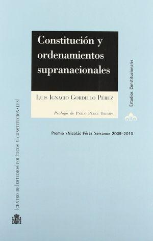 CONSTITUCIONES Y ORDENAMIENTOS SUPRANACIONALES