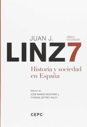 HISTORIA Y SOCIEDAD EN ESPAÑA