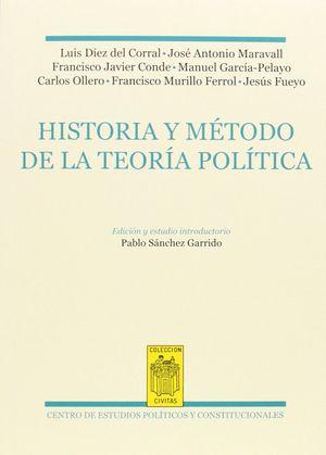 HISTOTIA Y MÉTODO DE LA TEORÍA POLÍTICA