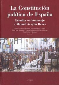 LA CONSTITUCIÓN POLÍTICA DE ESPAÑA